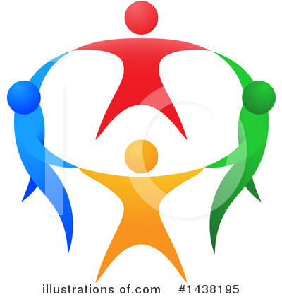 Royalty-Free (RF) Teamwork Clipart Illustration by AtStockIllustration - Stock Sample #1438195