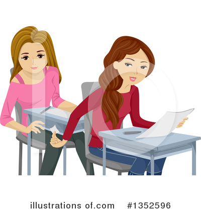 Teen Girl Clipart #1352596 by BNP Design Studio