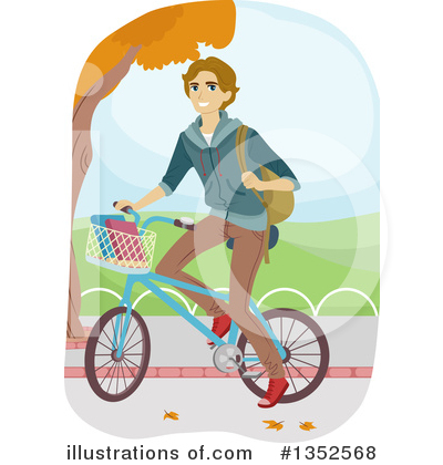 Bicycle Clipart #1352568 by BNP Design Studio