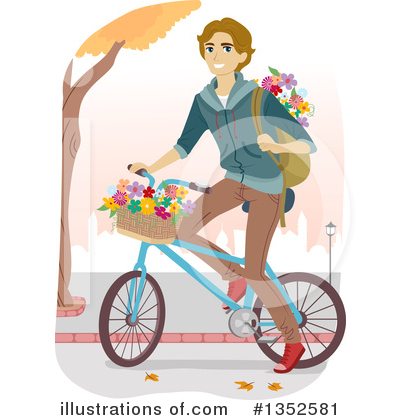 Bicycle Clipart #1352581 by BNP Design Studio
