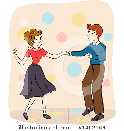 Couple Clipart #1402966 by BNP Design Studio