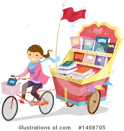 Bicycle Clipart #1408705 by BNP Design Studio
