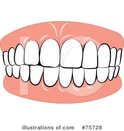 teeth clipart 75728 illustration by lal perera rh illustrationsof com tooth clip art teeth clip art black and white