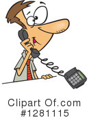 Telephone Clipart #1281115 by toonaday