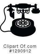 Telephone Clipart #1290912 by Vector Tradition SM