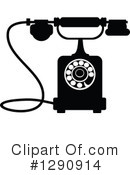 Telephone Clipart #1290914 by Vector Tradition SM