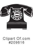 Telephone Clipart #209616 by BestVector