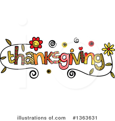Royalty-Free (RF) Thanksgiving Clipart Illustration by Prawny - Stock Sample #1363631