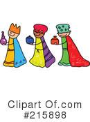 Three Kings Clipart #100000 - Illustration by Prawny
