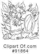 Thumbelina Clipart #211266 - Illustration by Alex Bannykh