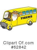 Tiger Character Clipart #62842 by Toons4Biz