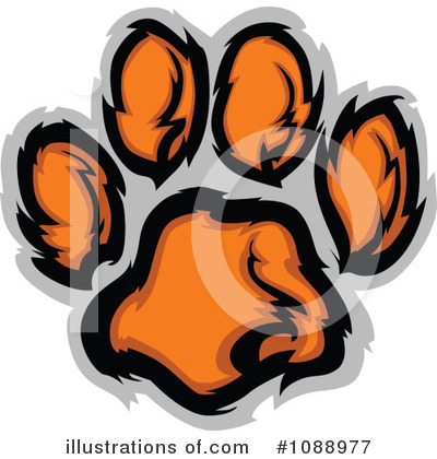 Tiger Clipart #1088977 by Chromaco