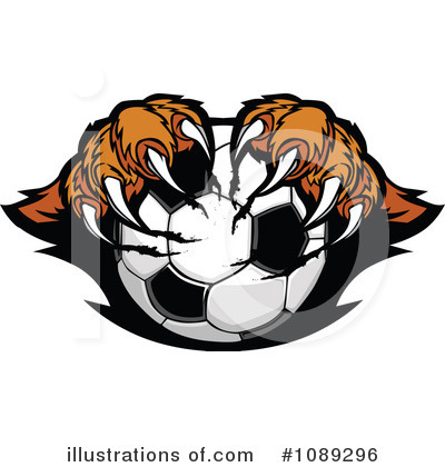 Tiger Clipart #1089296 by Chromaco