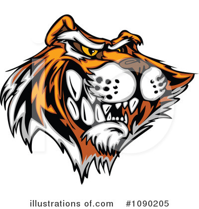 Tiger Clipart #1090205 by Chromaco