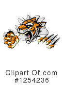 Tiger Clipart #1254236 by AtStockIllustration
