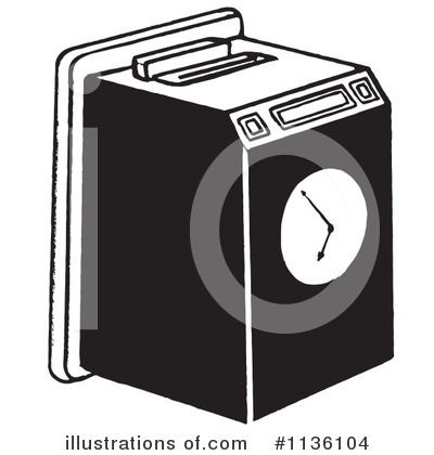 Time Clock Clipart #1136104 - Illustration by Picsburg