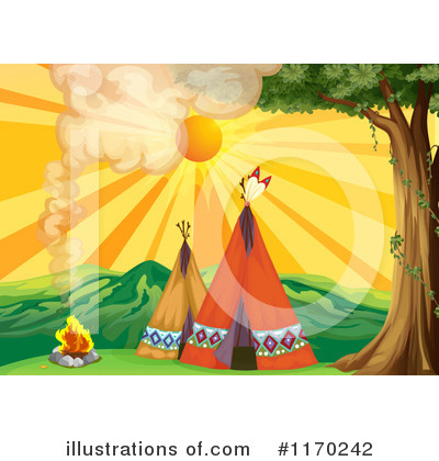 Campfire Clipart #1170242 by Graphics RF