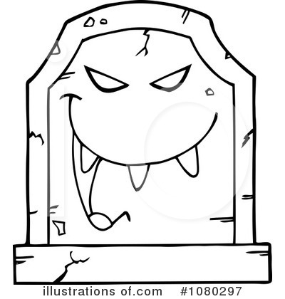 Royalty free rf tombstone clipart illustration 1080297 by hit toon
