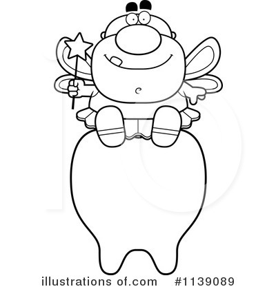 Tooth Fairy Clipart #1139089 - Illustration by Cory Thoman
