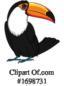 Toucan Clipart #1698731 by Vector Tradition SM