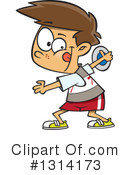 Track And Field Clipart #1314173 by toonaday
