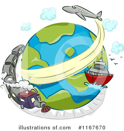 Airplane Clipart #1167670 by BNP Design Studio