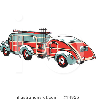 Car Clipart #14955 by Andy Nortnik