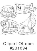 Transportation Clipart #231694 by visekart