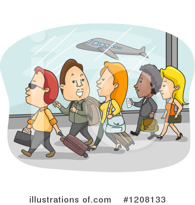 Airport Clipart #1208133 by BNP Design Studio