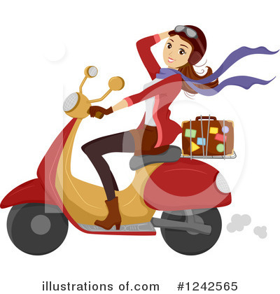 Motorcycle Clipart #1242565 by BNP Design Studio