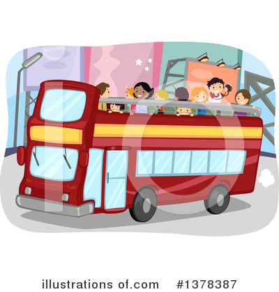 Double Decker Clipart #1378387 by BNP Design Studio