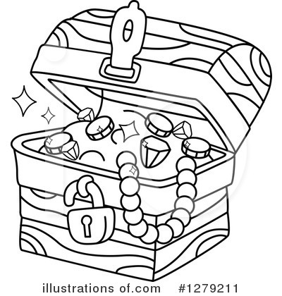 Treasure Chest Clipart 1279211 Illustration By BNP