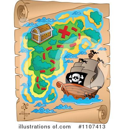 treasure map clipart 1107413 illustration by visekart rh illustrationsof com treasure map clipart detailed treasure map clipart free