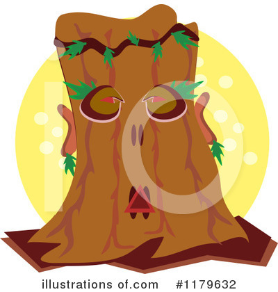 Tree Man Clipart #1179632 by bpearth