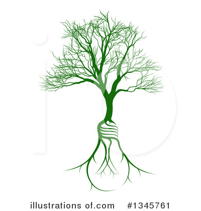 Tree Clipart #1345761 by AtStockIllustration