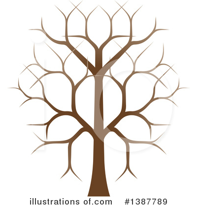 Tree Clipart #1387789 by AtStockIllustration