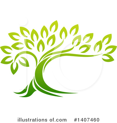 Tree Clipart #1407460 by AtStockIllustration