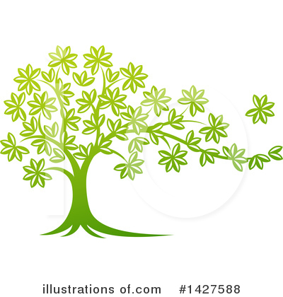 Tree Clipart #1427588 by AtStockIllustration