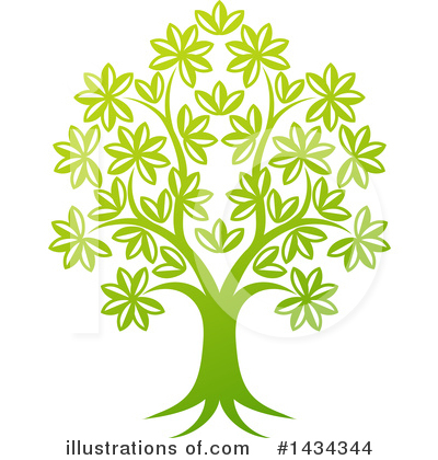 Tree Clipart #1434344 by AtStockIllustration