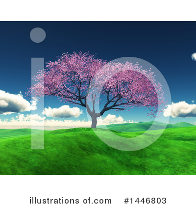Blossoms Clipart #1446803 by KJ Pargeter