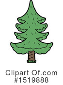 Tree Clipart #1519888 by lineartestpilot
