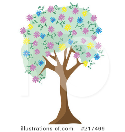 Blossoms Clipart #217469 by mheld