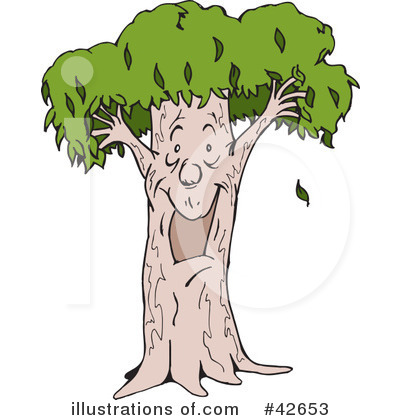 Tree Man Clipart #42653 by Dennis Holmes Designs