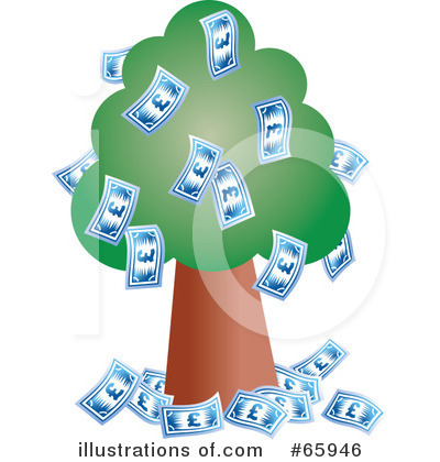 Money Tree Clipart #65946 by Prawny