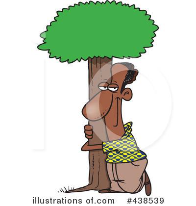 Tree Hugger Clipart 438539 Illustration By Toonaday