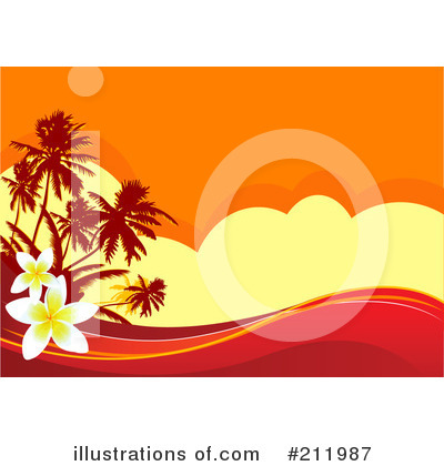 Tropical Clipart #211987 - Illustration by Pushkin