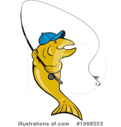 Trout Clipart #1068553 - Illustration by patrimonio