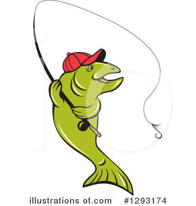 Fishing Clipart #1293174 by patrimonio