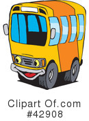 Truck Clipart #42908 by Dennis Holmes Designs