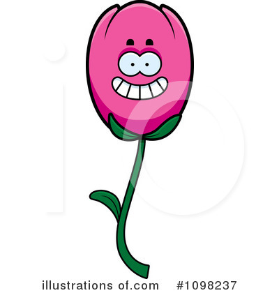 Tulip Clipart #1098237 - Illustration by Cory Thoman
